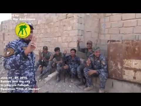 RAW Intense Battle & Liberation of ISIS-Held Fallujah, Iraq June 2016
