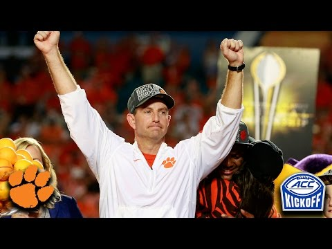 Dabo Swinney: Clemson Loaded With Talent And Motivated To Win It All