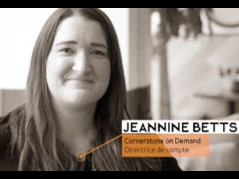 HR TECH Montréal 2020/ Entrevue avec Jeannine Betts, Cornerstone OnDemand