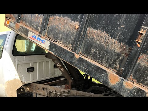 Building A Stake Body Truck Bed part 1