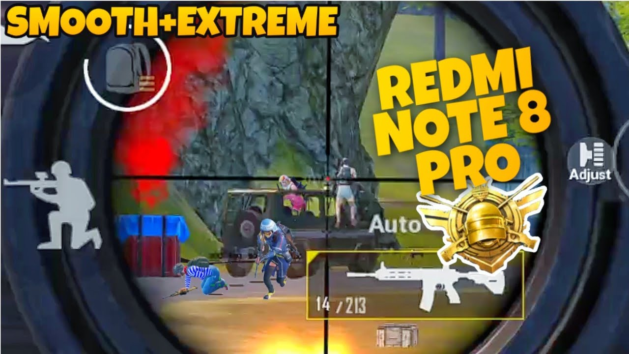 Redmi Note 8 Pro Pubg || smooth+extreme 60 fps Gameplay || Note 8 Pro ||