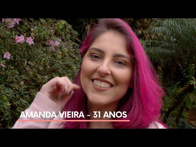 História da Amanda Vieira, paciente de linfoma de Hodgkin