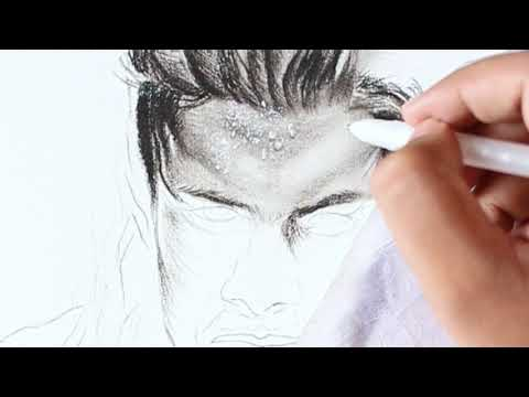 drawing-roman-reigns-(-how-to-draw-realistic-skin,-sweat)-part-1