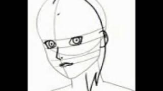 Draw tsunade face