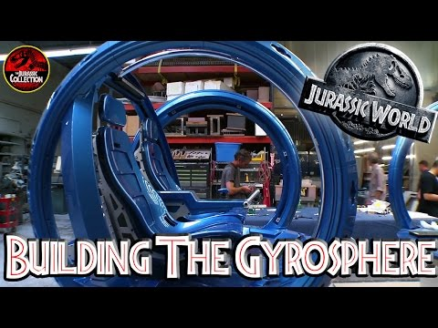 Jurassic World | BUILDING THE GYROSPHERE | Behind the Scenes