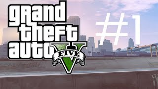 Grand Theft Auto 5 Walkthrough #1 - Doing the repo job!