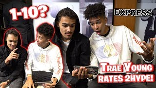 Trae Young Rates 2Hype's Basketball Skills 1-10! Who has the Best Jumpshot?