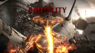 Mortal Kombat X Play as Corrupted Shinnok + Brutality and Fatality
