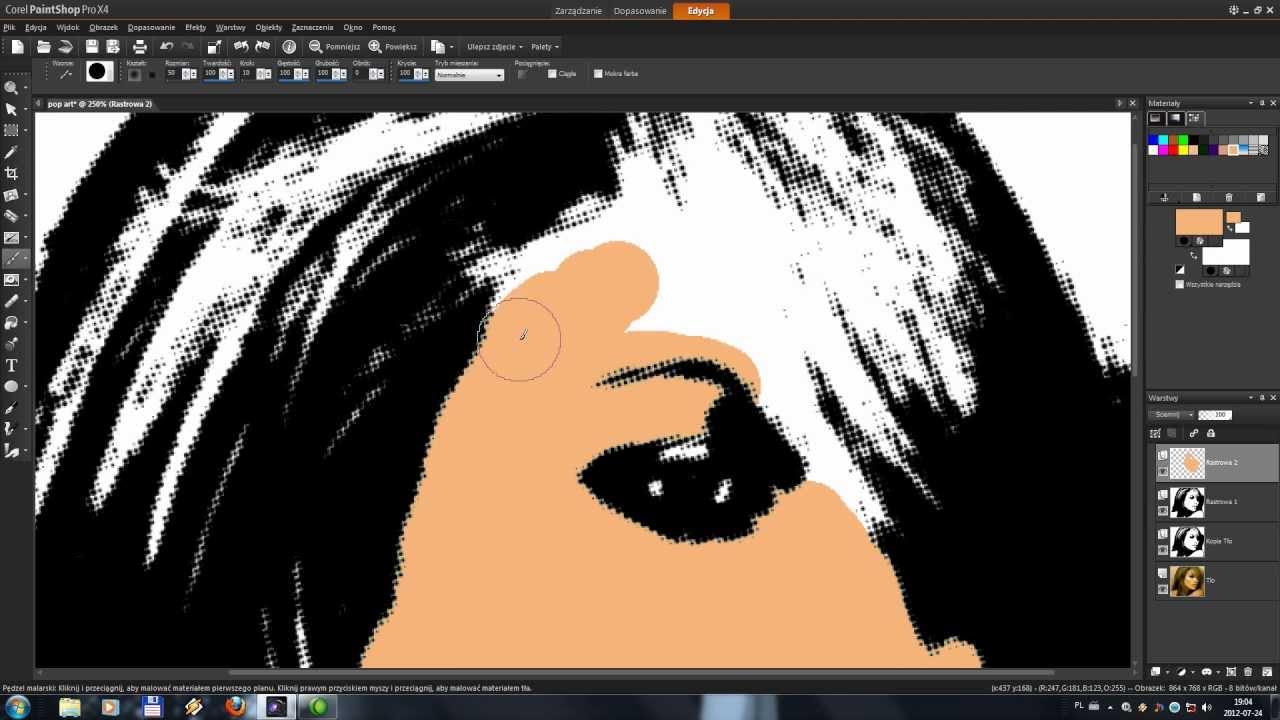 Cara Corel Photo Paint X4 Tutorials