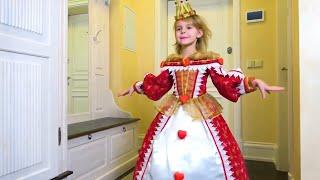 Mania e seu novo quarto de princesa