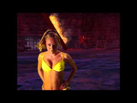 Nude woman striping video clip