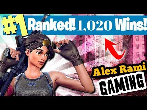 #1 World Ranked| 1,020 Wins | Sponsor Goal 544/600 | Fortnite Battle Royale LiveStream