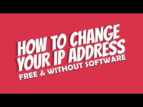 How To Change Your IP Address For Free