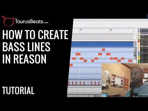 How To Make Beats Using Propellerhead Reason - Bassline Technique Tutorial by TaurusBeats