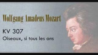 Mozart - Oiseaux, si tous les ans KV 307.wmv
