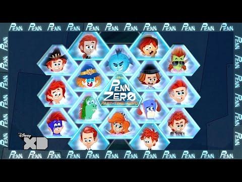 Penn Zero: Part-Time Hero | Interactive Video: Many Faces of Penn  | Official Disney XD UK