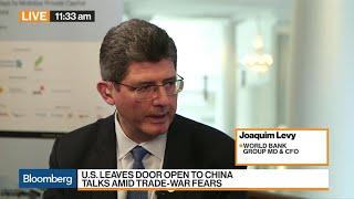 World Bank CFO Levy on Trade War, Economy, Brazil
