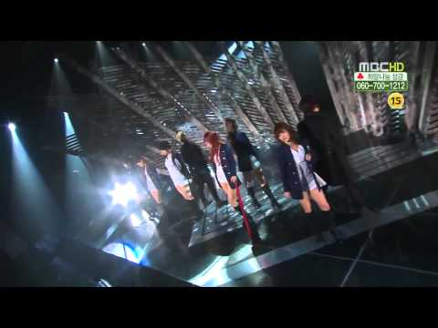 T-ara - Cry Cry - LIVE MBC - HD