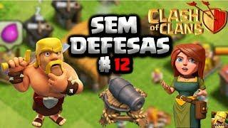 CLASH OF CLANS - EVOLUINDO UMA VILA SEM DEFESAS #12 COMPRANDO O 4 CONSTRUTOR