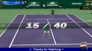 Tennis Masters Series 2003 Best Game