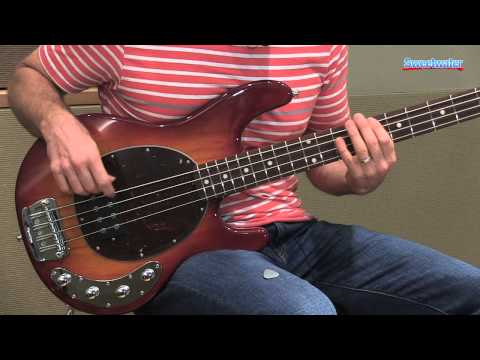 Music Man StingRay 4 H Electric Bass Guitar Demo - Sweetwater Sound