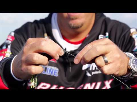 How To Tie The Trilene Knot For Bass Fishing