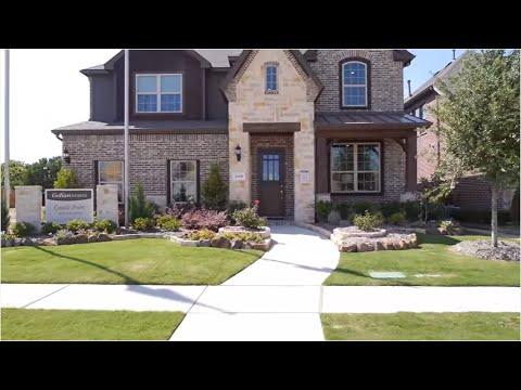 The Rosewood Floor Plan Model Home Tour Gehan Homes Youtube
