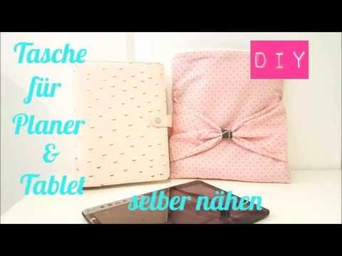 DIY Tasche/Schutzhülle für Planer A5/Webster´s Pages/Filofax/Kikki K &Tablet selber nähen