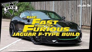 FATE OF THE FURIOUS JAGUAR F-TYPE CUSTOM CAR BUILD TUTORIAL: GTA 5 ONLINE (OCELOT LYNX)