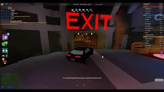 Roblox Jailbreak MY car flipped over!!! LOL!!