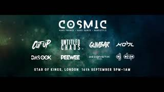 Hedonistik Ritual @ Cosmic Volume 2, London, September 2017 (Hard Trance Classics)