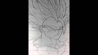 draw gohan