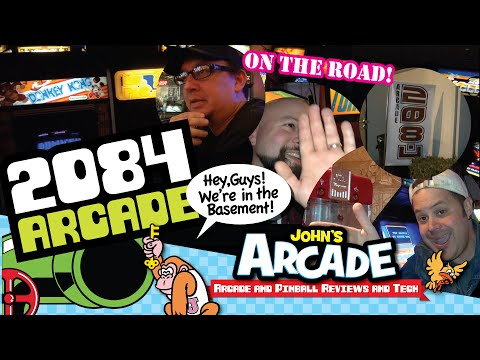 John goes to the 2084 private arcade in California. Viewer Mail, Track and Field, New game and more!