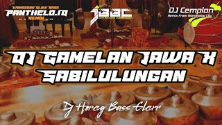 DJ Gamelan X Sabilulungan Horeg || Cocok Buat Cek Sound || Wonosobo Slow Bass || Panthelo Id || JBBC