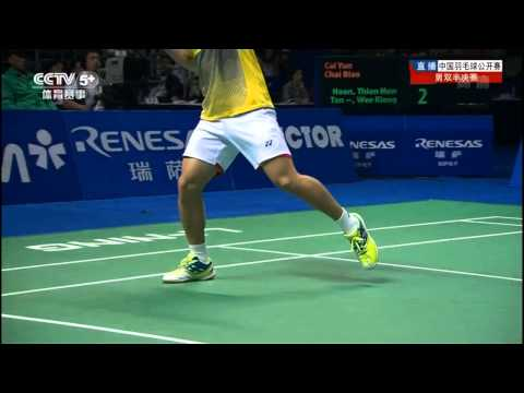[HD] SF - MD - Hoon T.H. / Tan W.K. vs Cai Y. / Chai B. - 2013 China Open
