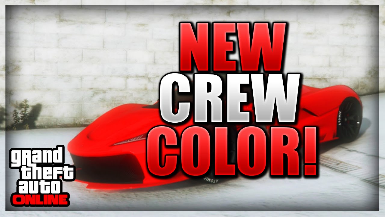Gta 5 Online Paint Jobs Best Rare Modded Crew Colors 34