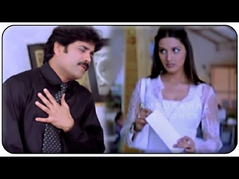 Sonali Bendre And Nagarjuna Romantic Scene || Manmadhudu Movie