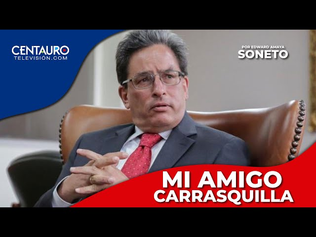 Soneto | Mi amigo Carrasquilla