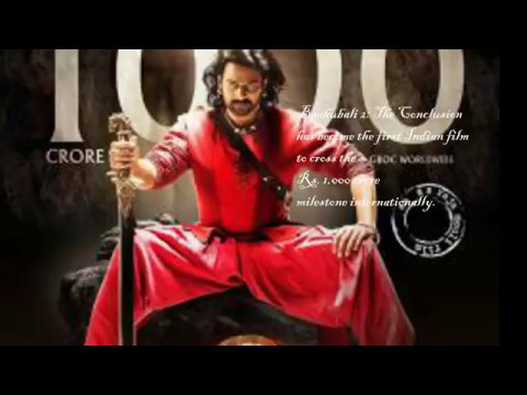 Baahubali 2 - The Conclusion | No.1 Blockbuster of Indian Cinema | 1000 Crores