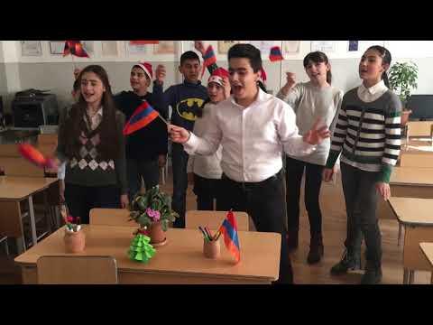 Tunisia-Ukraine-Armenia Live Event. Happy New Year. Every child is an artist.