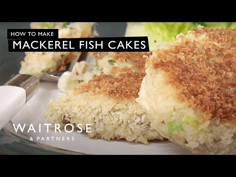 Mackerel Fish Cakes   Waitrose