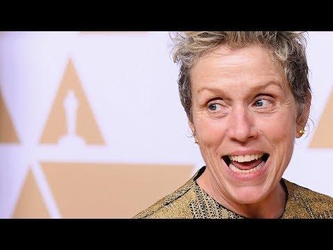 Frances McDormand - Oscars - Best Actress - Full Backstage Speech