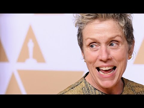 Frances McDormand explains Inclusion Rider at Oscars  Full Backstage Speech
