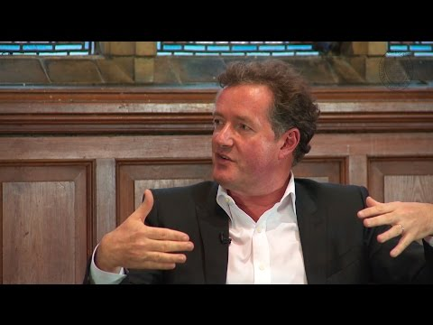 Piers Morgan - Oxford Union Full Q&A