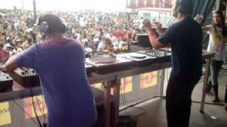 Alex TB vs Buchecha - 4 decks @ Montagood Festival 2009 - Lleida - Spain