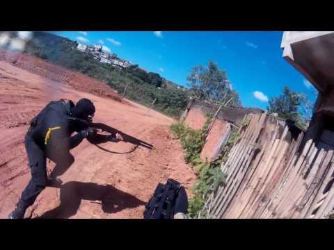 Partida Airsoft -