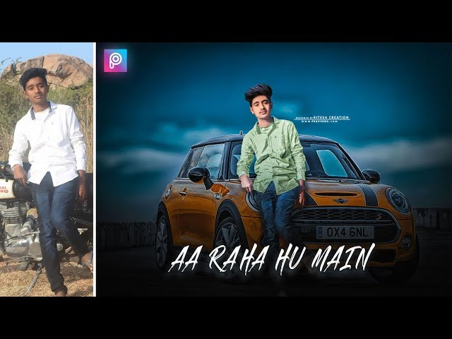 Aa raha Hu main Manipulation car Editing in PicsArt || PicsArt Car CB Editing