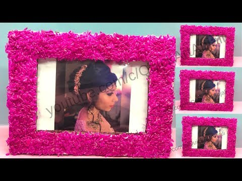How to make a Awesome Photo Frame At Home || Photo Frame Making with QuickArtAnjali
