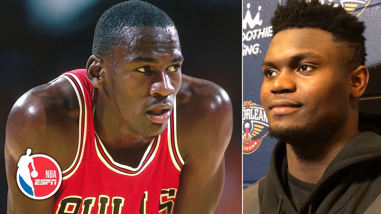 perdonar una vez infraestructura  My name next to Michael Jordan!' Zion Williamson honored to share feat with  MJ | NBA Sound - YouTube