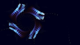 Mechanical Eyes fractal animation HD
